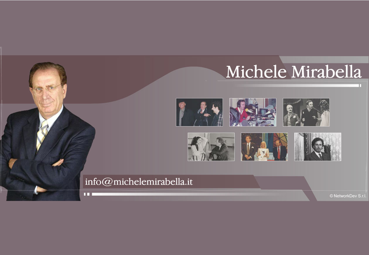 Michele Mirabella Courtesy Page
